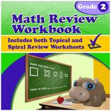 Math Review Workbook - Grade 2