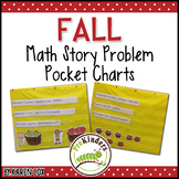 Math Story Problem Pocket Charts: FALL Edition