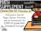 Math Supplements, Growing Bundle: First Grade