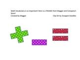 Math Vocabulary Posters for Kindergarten-2nd Grade