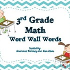 {Freebie} Math Vocabulary Word Cards