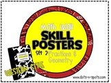 Math Wall Posters: Set 2 {Western Style}