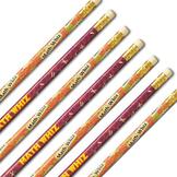 Math Whiz Teachers #2 Motivational Pencils 144 per order
