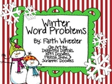 Math - Winter Word Problems