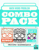 Math Word Problem Vocabulary Combo Pack