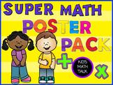 Math Workshop Posters Bundle #1 - Kid-friendly questions,