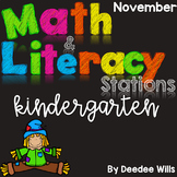 Math and Literacy Stations for November