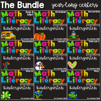 Math and Literacy The COMPLETE SET