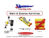 Math and Science Activity Book - Lesson 1 - Brick Units/Ve