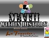 LOUISIANA - Math within History