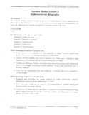 Mathematician Biography Grades 7-12