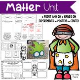 Matter Unit { States of Matter ~ Solids, Liquids, Gases }