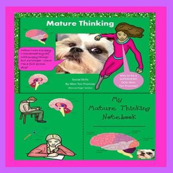 Mature Thinking Social Skill Special Education Autism Resc