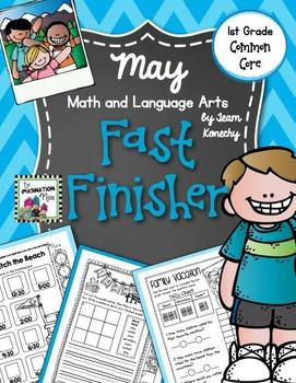 May Fast Finisher - Math and Language Arts