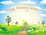 May Morning Work for Kindergarten