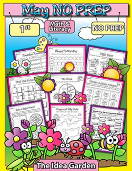 May NO PREP - Math & Literacy (First)