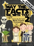 Star Wars ~ May The Facts Be With You 2 ~ Math Set Of Colo