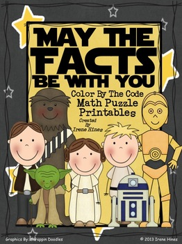 Star Wars ~ May The Facts Be With You ~ Color By The Code Math Puzzle Printables