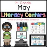 May literacy Menu 1st Grade