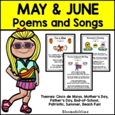 May & June Poems and Songs