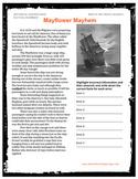 Mayflower Mayhem Podcast Classroom Package - American History