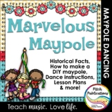 Maypole Mania!  How to build & dance (+animations), lesson