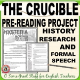 McCarthyism/The Salem Witch Trials/The Crucible--Induced Hysteria
