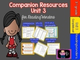 "ReadingWonders 3rd Grade Unit 3 ""The Complete Set"" of Mega"