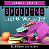 McGraw-Hill Wonders Second Grade Spelling (Unit 6: Weeks 1-5)