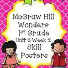 McGraw Hill Wonders Unit 3 Week 2 Skill Posters Freebie!!!