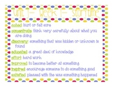 McGraw- Hill: Wonders-- Vocabulary Power Points for Unit 1