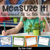 Measure It - Measurement for the Math Journal