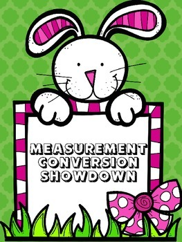 Measurement Conversion Showdown - FREEBIE