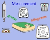 Measurement Estimation Grams and Kilograms Metric Smartboa
