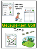 Measurement Golf Game