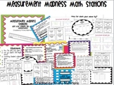 Measurement Madness Math Stations