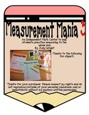 Measurement Mania 3: Measuring to the Inch