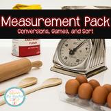 Measurement Pack - conversions, games, and sort