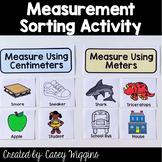 Measurement Sorting Activity 2.MD.3