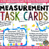 Measurement Task Cards {CANDY THEMED}