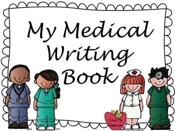 Medical Book Writing Freebie