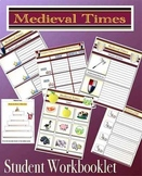 Medieval Times Middle Ages Student Mini Workbooklet 85 pages