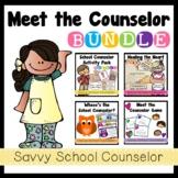 Meet the Counselor BUNDLE- Savvy School Counselor