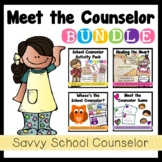 Meet the Counselor BUNDLE- Savvy School Counselor
