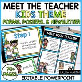 Meet the Teacher Forms  (Editable)
