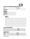 Meeting Agenda Template-Printable