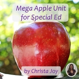 Mega Apple Unit for Special Education