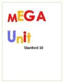 Mega...Mega...Unit for Stanford 10 test prep