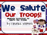 Memorial Day and Patriot's Day: We support our Troops  Activity