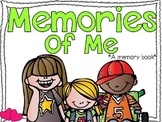 Memories of Me {A Kindergarten/First Grade Memory Book}